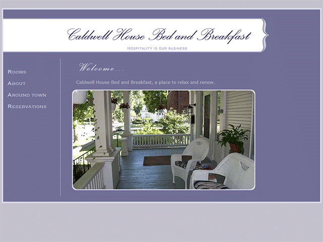 Projects - Caldwell House Bed and Breakfast - Three Loud Crows