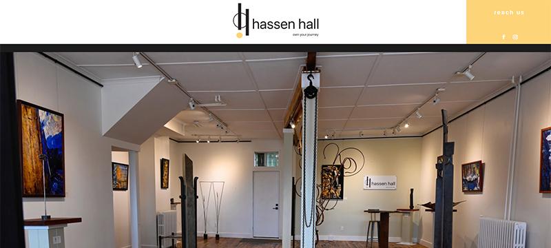Three Loud Crows - Hassen Hall Art